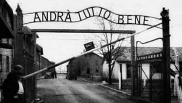 Andra tutto bene nella foto di Auschwitz. Meluzzi usa il Covid e riscrive la Shoah. Dal Pd laccusa Orrore gioca con i simboli del nazismo