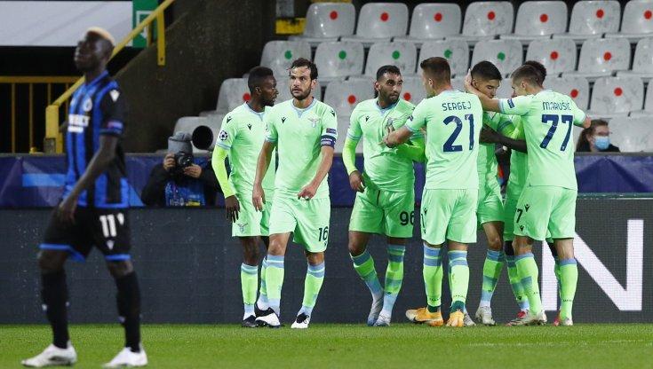 Bruges Lazio 1 1 segna Correa punto doro per i romani in emergenza