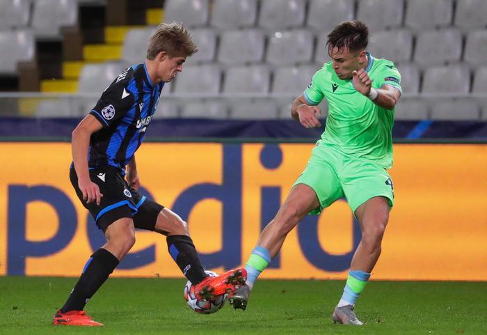 Champions Bruges Lazio 1 1