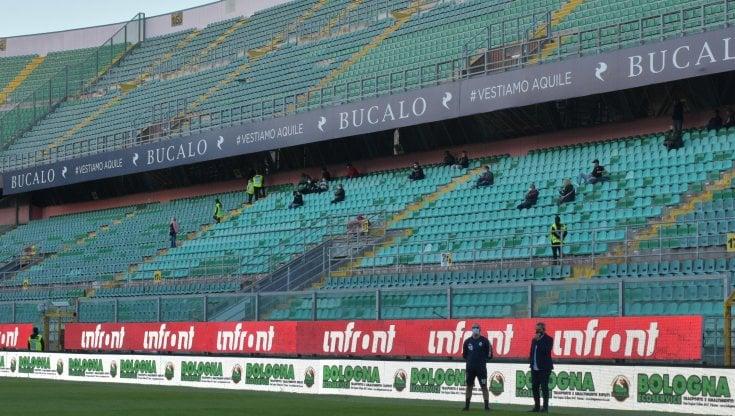 Dieci positivi nel Palermo rinviata la partita con la Turris