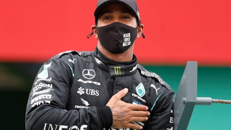 Formula 1 Gp Portogallo. Hamilton meglio di Schumacher Arrivare a 92 vittorie era un sogno. Leclerc quarto