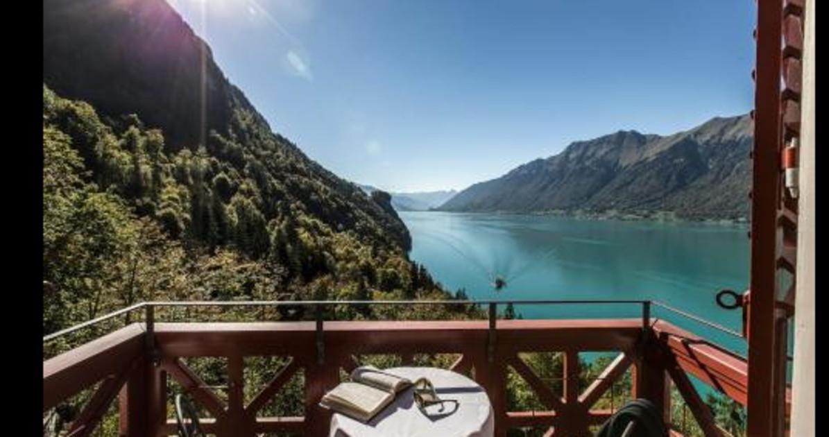 Il leggendario Grand Hotel Giessbach il gioiello su un lago incantanto