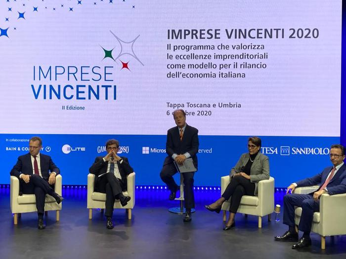 Intesa pmi toscane e umbre al digital tour Imprese Vincenti