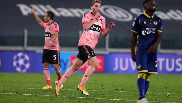 Juventus Verona 1 1 Kulusevski risponde a Favilli