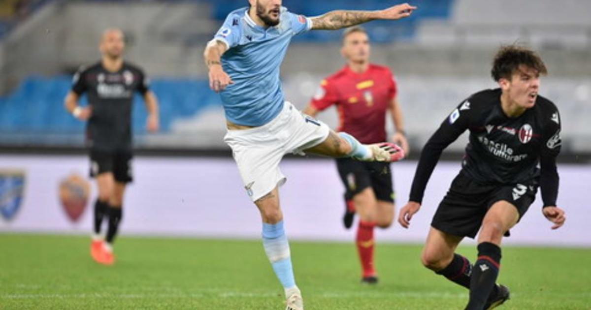 La Lazio torna a vincere in campionato Bologna battuto 2 1