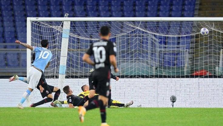Lazio Bologna 2 1 biancocelesti cinici ci pensano Luis Alberto e Immobile