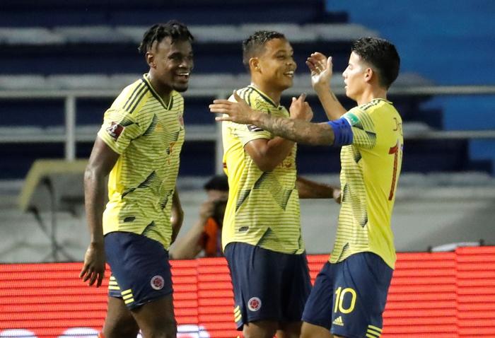 Mondiali Colombia Venezuela 3 0 Zapata Muriel gol