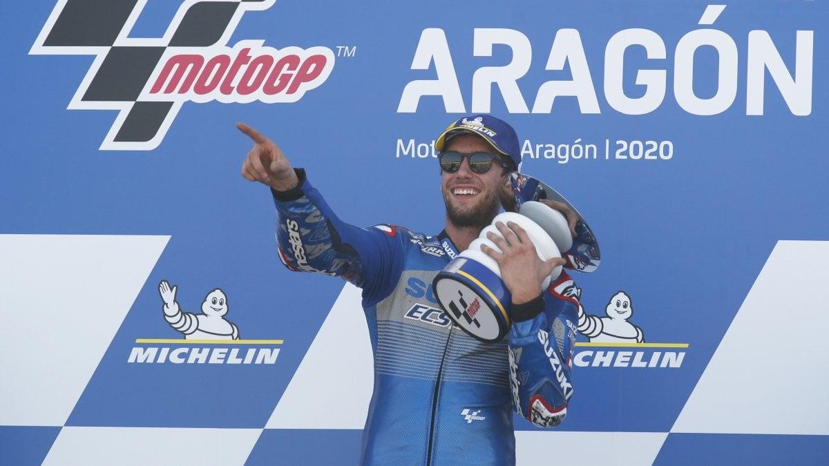 MotoGp Aragon Rins vince Mir nuovo leader. Crolla Quartararo Morbidelli sesto davanti a Dovizioso