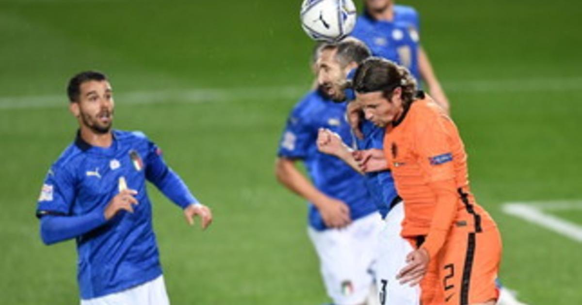 Nations League lItalia pareggia 1 1 contro lOlanda a Bergamo