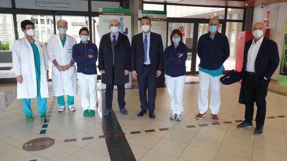 Piu di quattro mesi in terapia intensiva Salvo grazie ai medici e agli infermieri dellospedale di Parma
