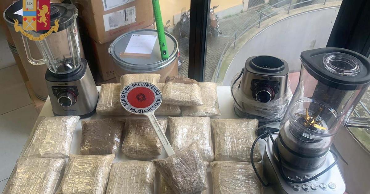 Raffineria di droga a Milano arrestati 2 trafficanti con 8 kg eroina
