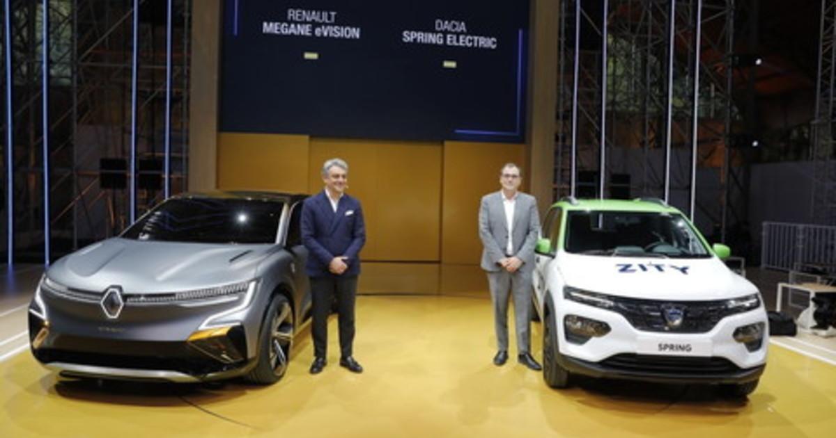 Renault sempre piu verso la mobilita a zero emissioni