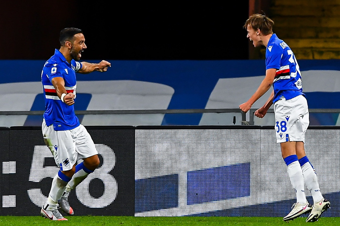 Serie A Sampdoria Lazio 3 0