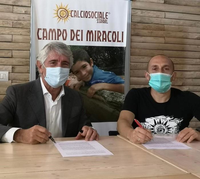 Accordo Calciosociale Ics per campo di calcio a Corviale
