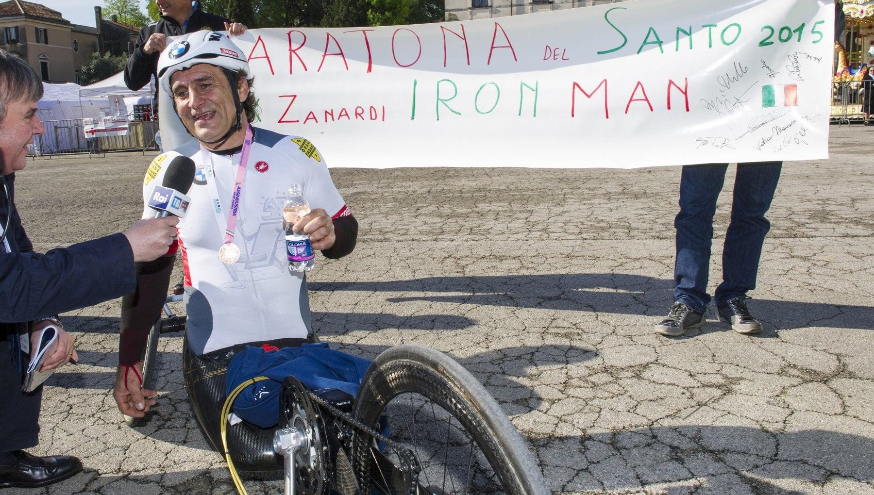 Alex Zanardi trasferito a Padova lospedale San Raffaele Condizioni stabili cosi piu vicino alla famiglia