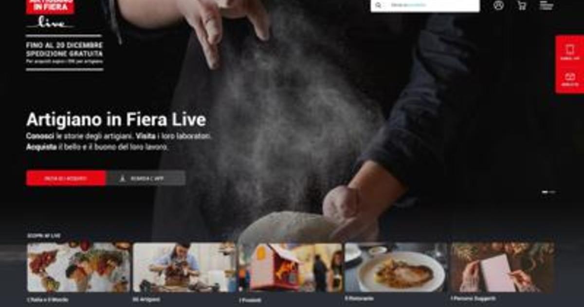 Artigiano in fiera live la prima piattaforma degli artigiani e online