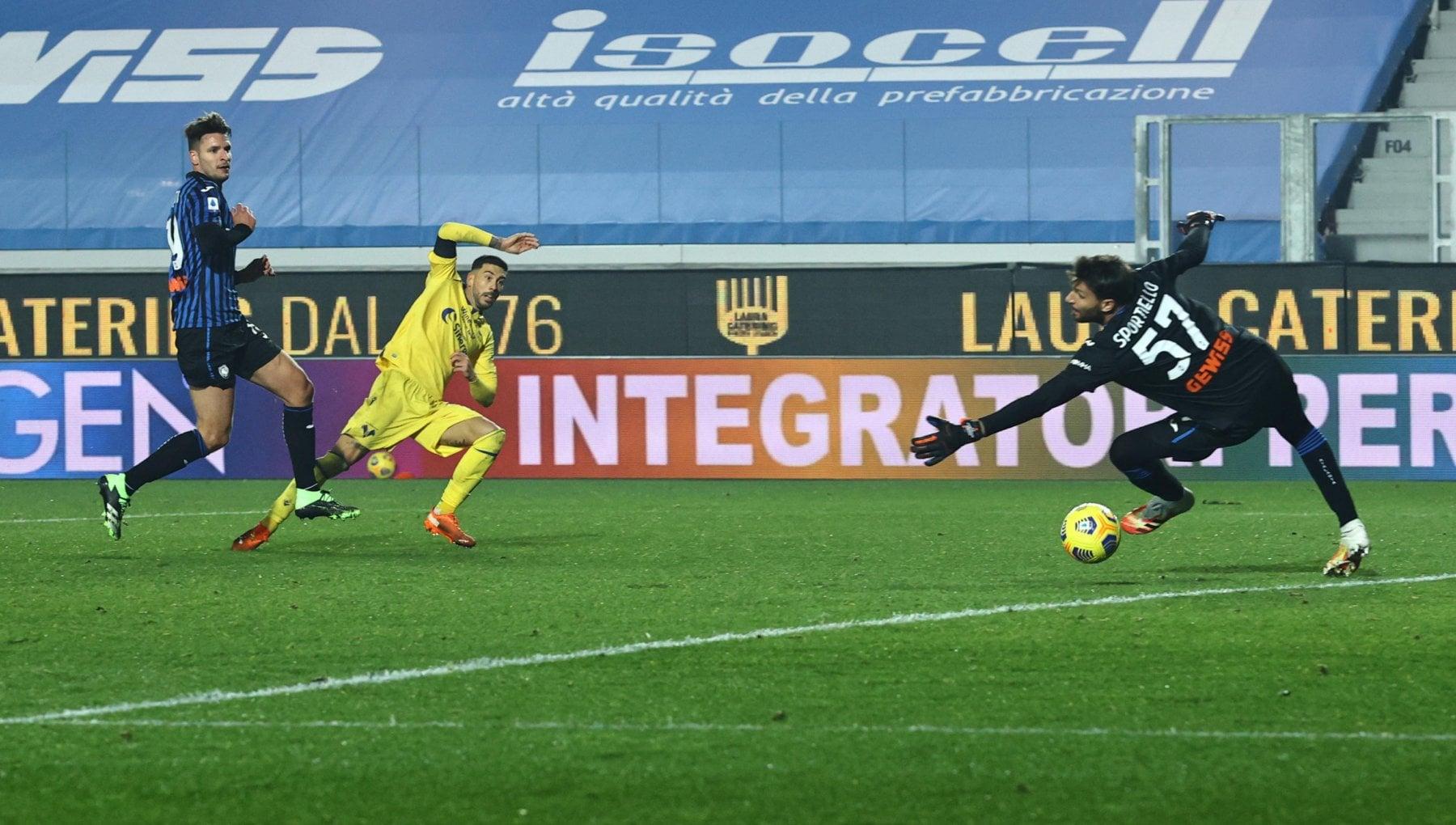 Atalanta Verona 0 2 lallievo Juric batte il maestro Gasperini. Segnao Veloso e Zaccagni