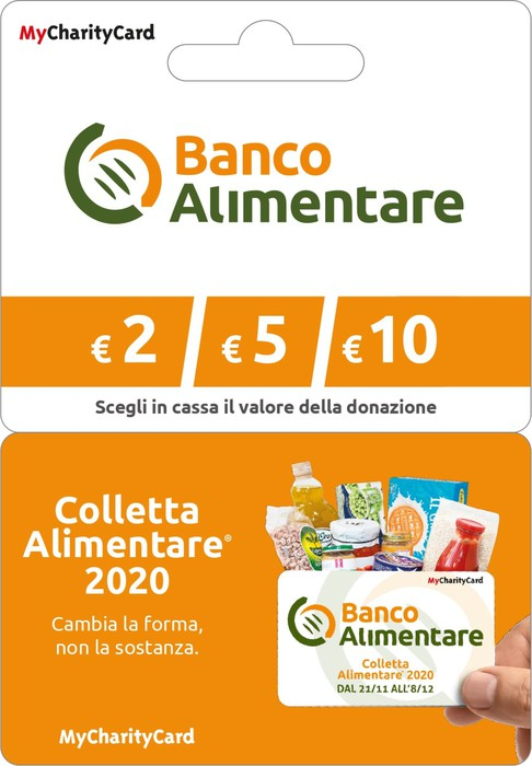Banco Alimentare la Colletta diventa digitale