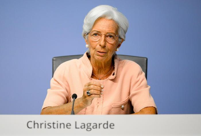 Bce Lagarde lEuropa e tornata strada tracciata