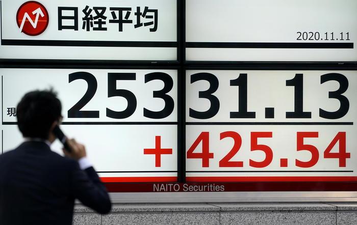 Borsa Asia in difficolta allerta Covid frena Tokyo 11