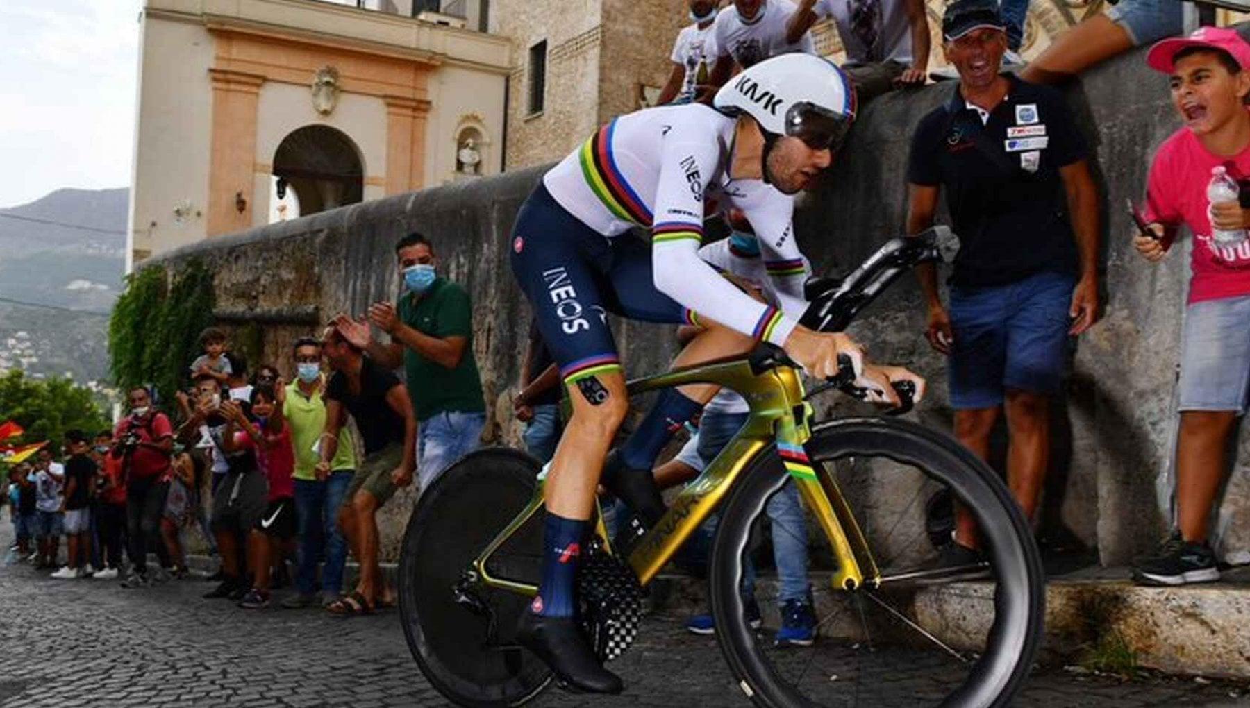 Ciclismo Filippo Ganna positivo al Covid