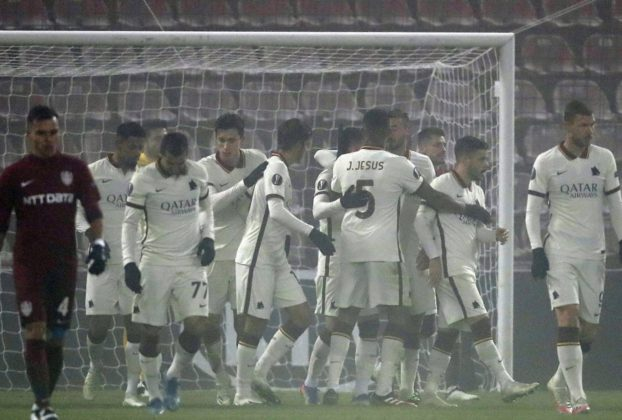 Cluj Roma 0 2 Veretout lancia in giallorossi ai sedicesimi