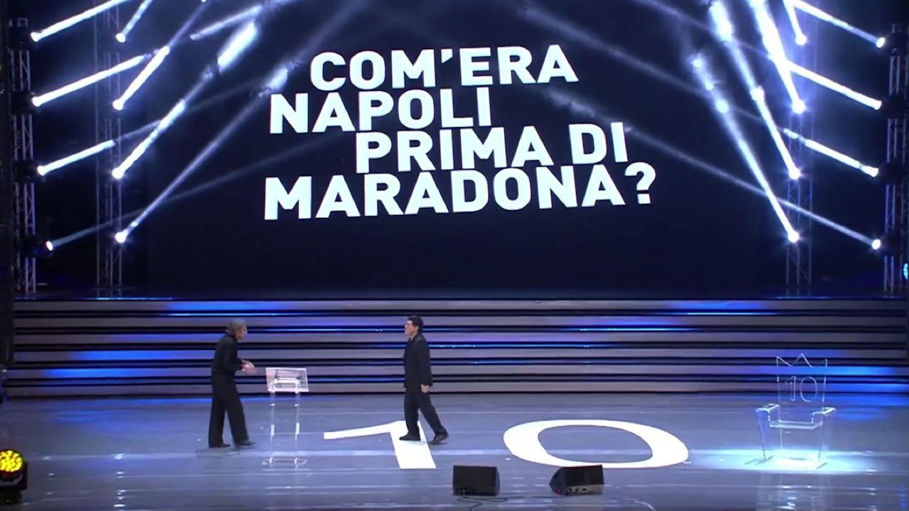 Comera Napoli prima di Maradona La poesia fa il giro del mondo