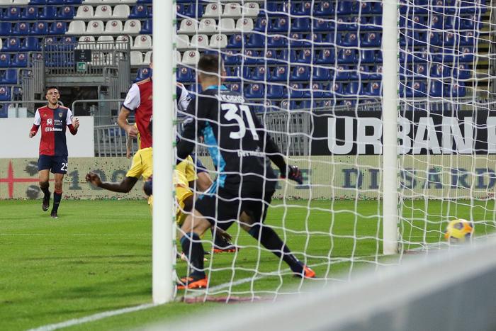 Coppa Italia Cagliari Verona 2 1