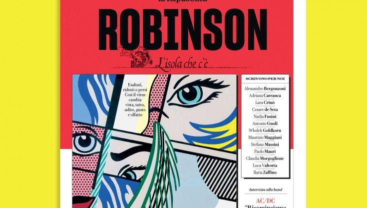 Cosi abbiamo perso i sensi su Robinson in edicola domani