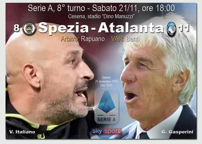 DIRETTA Serie A Spezia Atalanta 0 0