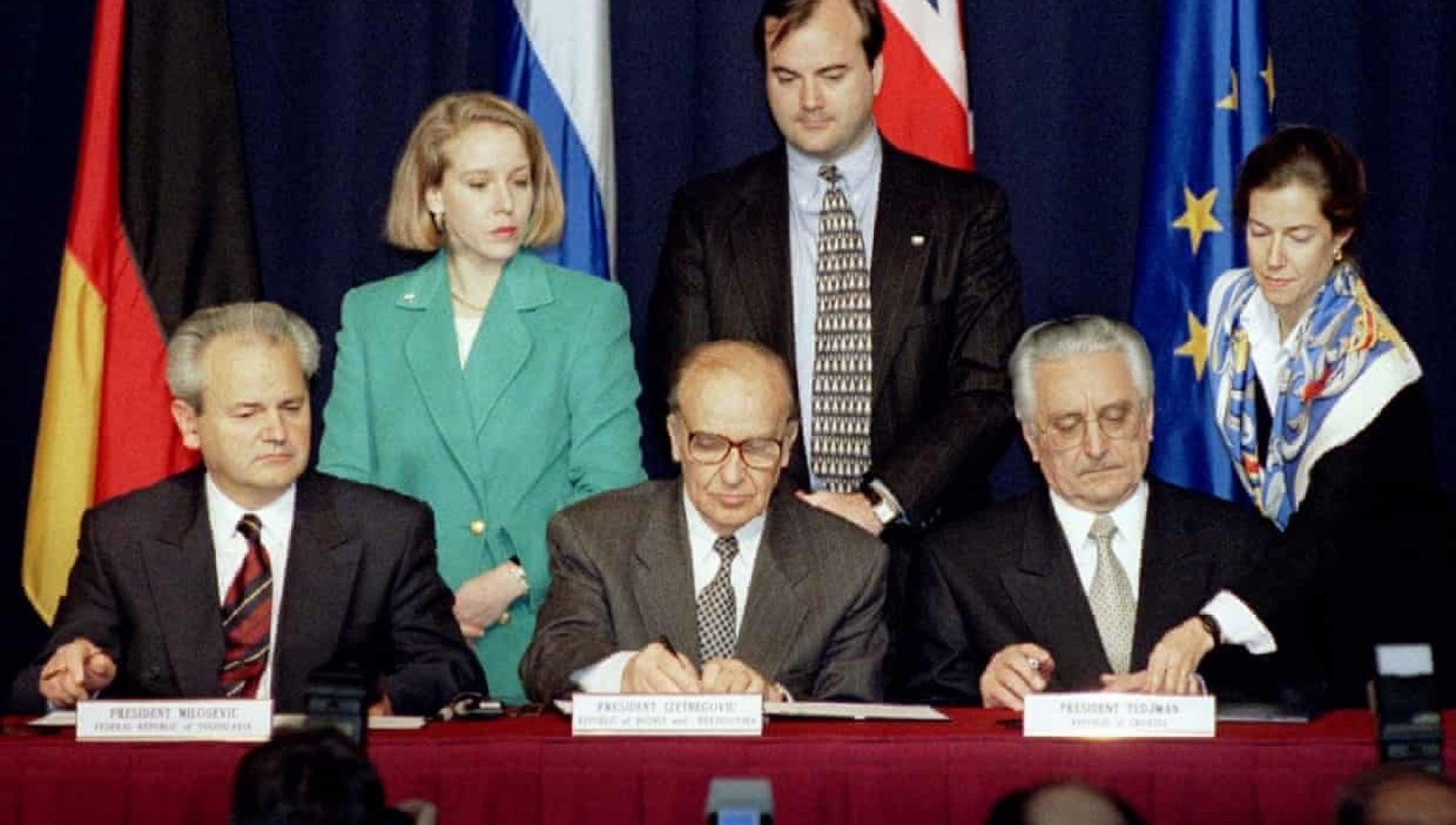 Dayton 25 anni dellaccordo di pace che cristallizzo la guerra nella ex Jugoslavia