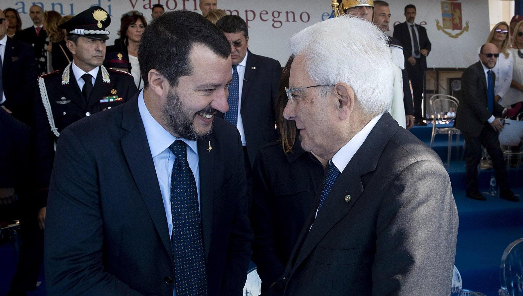Decreto Sicurezza Salvini ricevuto da Mattarella. Leader Lega Da governo mancanza di dialogo
