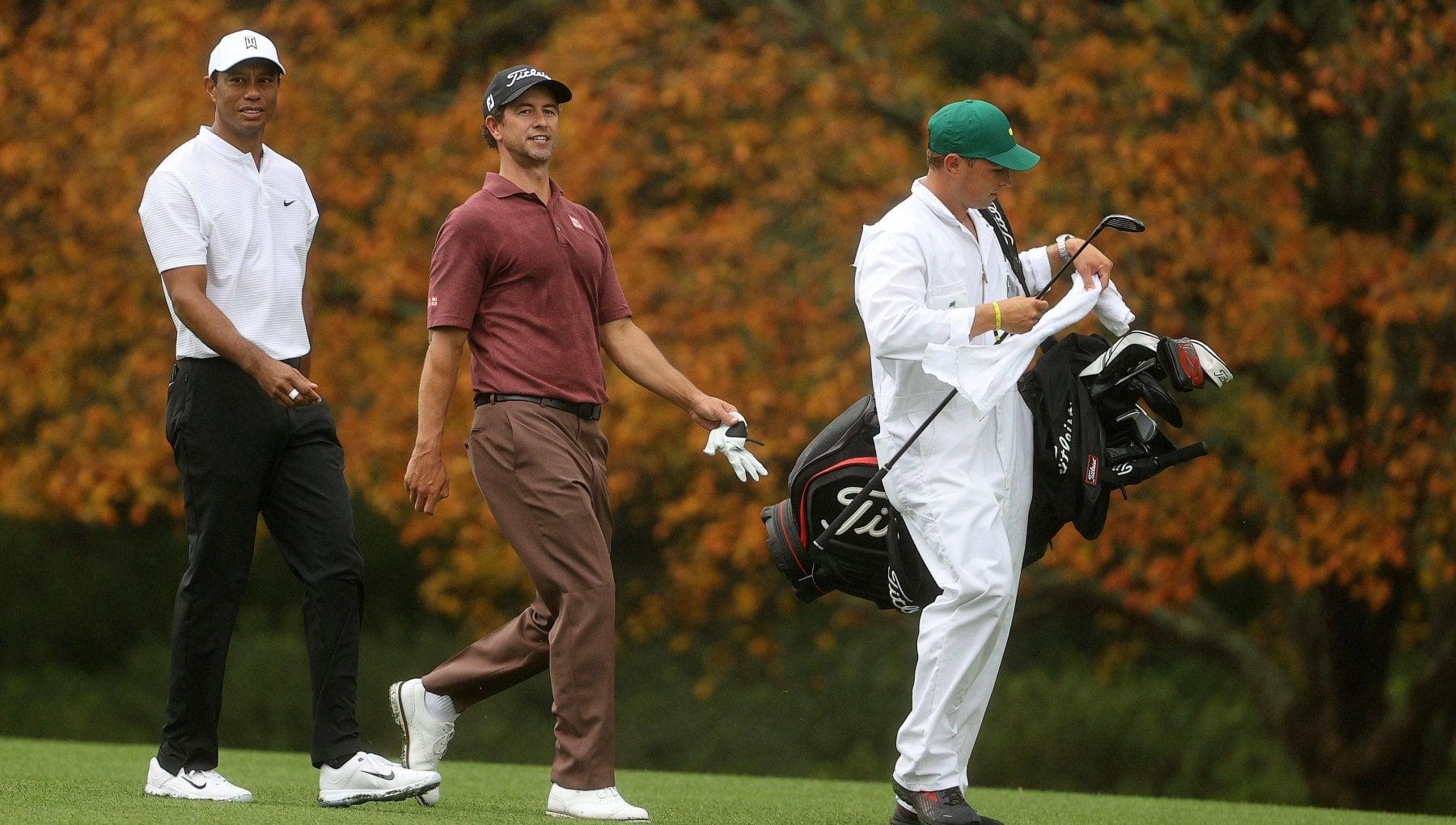 Ecco il Masters dautunno Tiger Woods resta senza tifosi