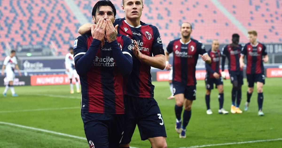 Il Bologna supera di misura il Crotone decide Soriano