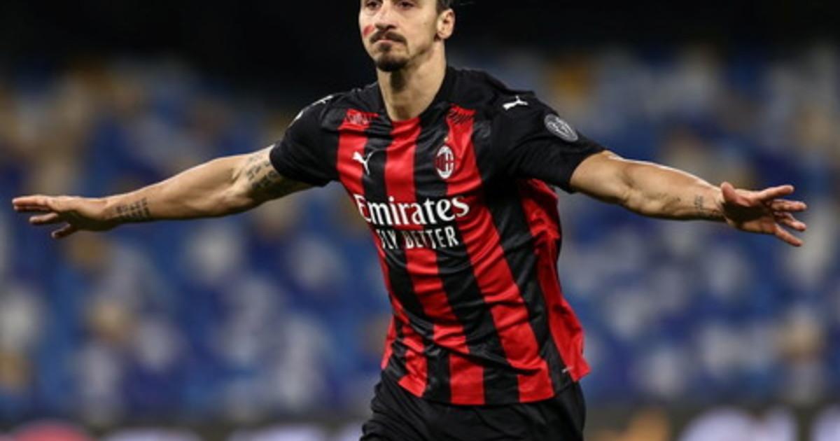 Il Milan vince anche a Napoli doppietta di super Ibrahimovic