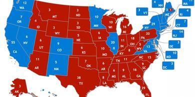 LElectoral College ovvero come si possono prendere 3 milioni di voti in piu ma perdere la presidenza