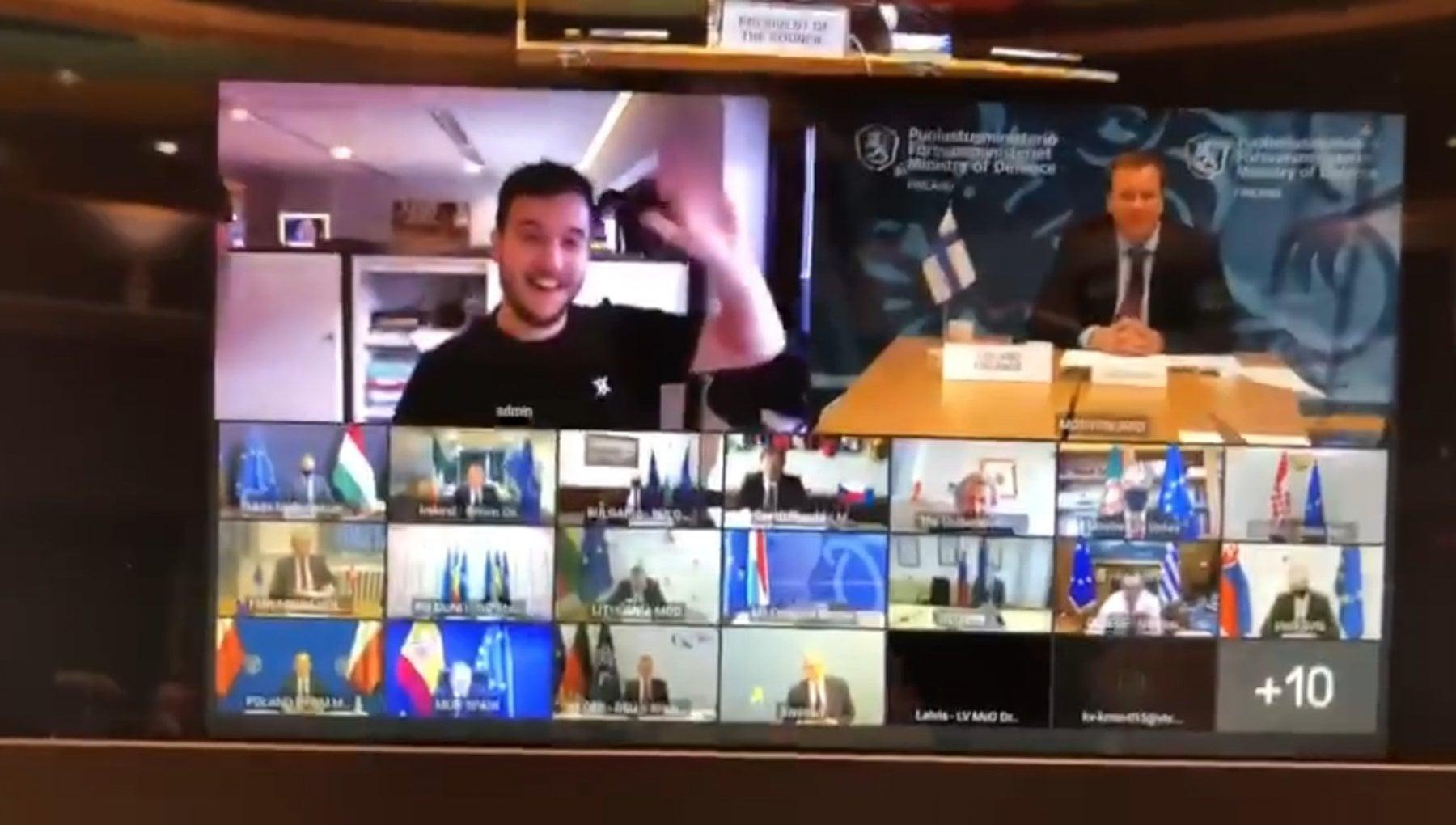 La cyber irruzione al vertice europeo un intruso in videoconferenza con i ministri