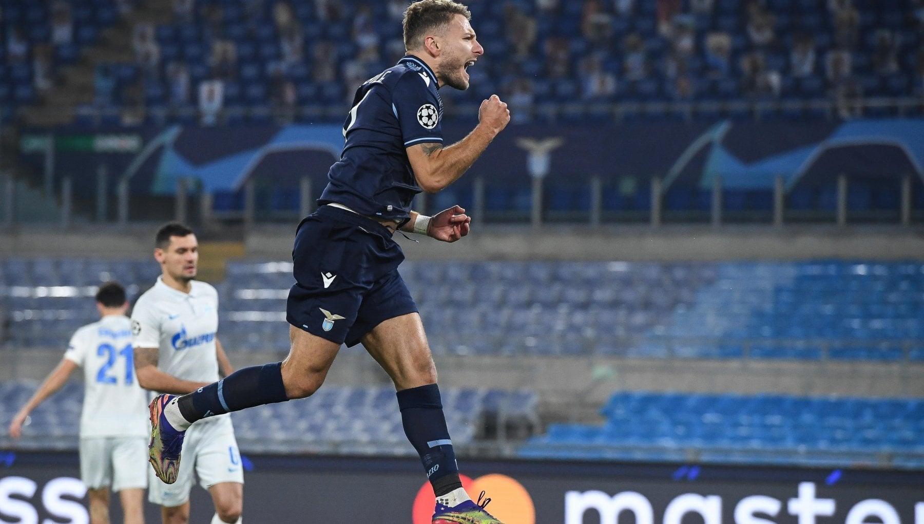 Lazio Zenit 3 1 Immobile non tradisce mai gli ottavi sono vicini