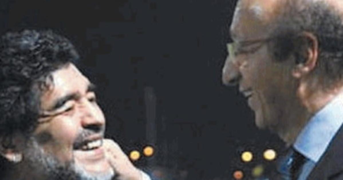 Luciano Moggi su Maradona Genio e uomo vero. Per lui ho fatto anche il sindacalista
