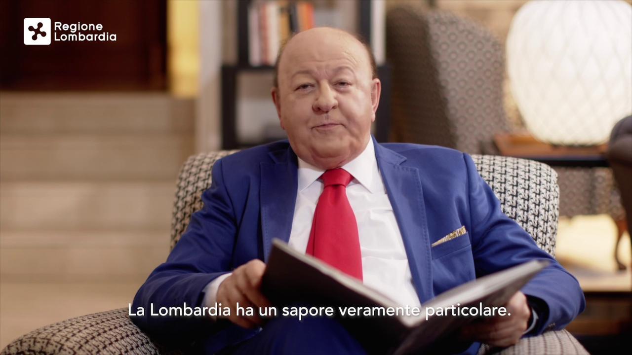 Massimo Boldi lo scettico del Covid 19 protagonista dello spot della regione Lombardia