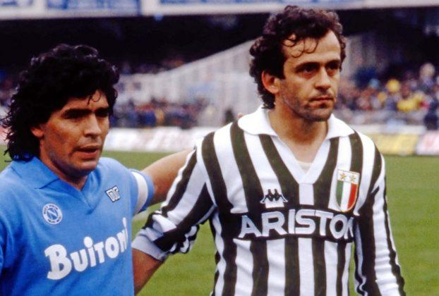 Michel Platini Negli occhi di ogni gioventu nessuno come Diego