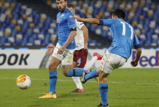 Napoli Rijeka 2 0 una vittoria per Diego azzurri in vetta al girone