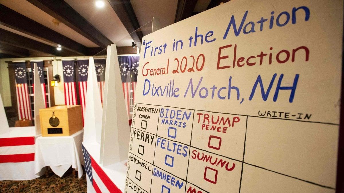 New Hampshire le due minuscole comunita che votano prima di tutti divise su Trump e Biden