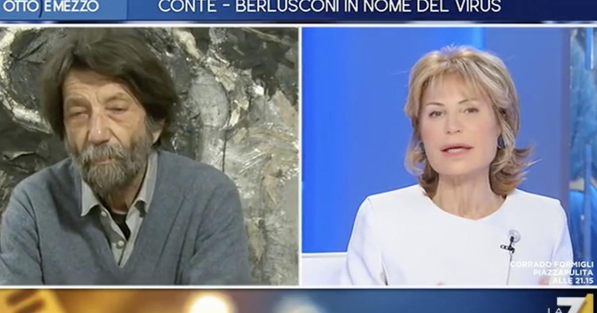 Non conta nulla. Cacciari avvisa Salvini dalla Gruber il Cav Vuoto a perdere si tratta solo di capire se