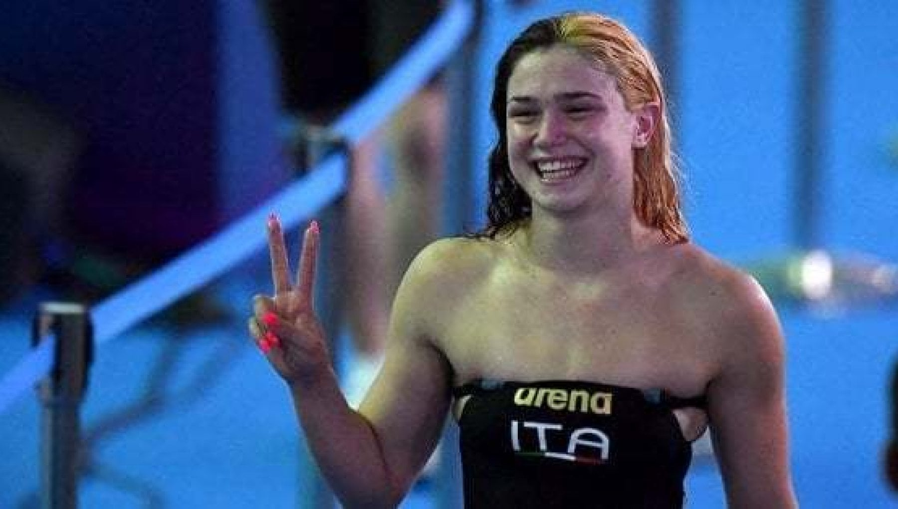 Nuoto Budapest Benedetta Pilato fa il record mondiale jr nei 50 rana