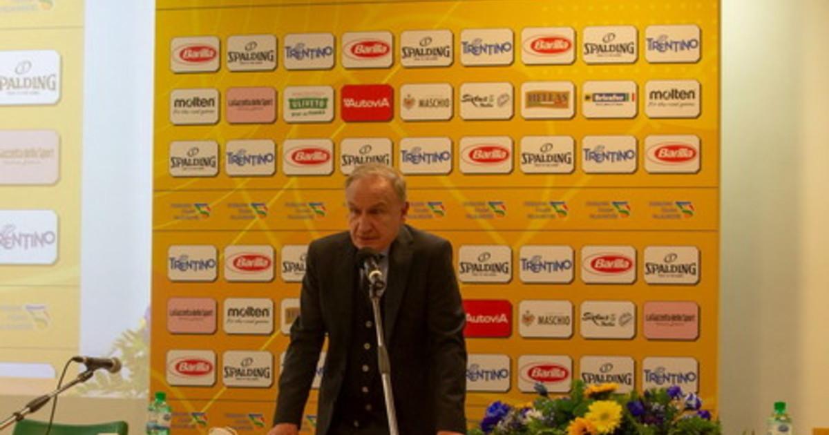 Petrucci confermato presidente Federbasket col 90 dei voti