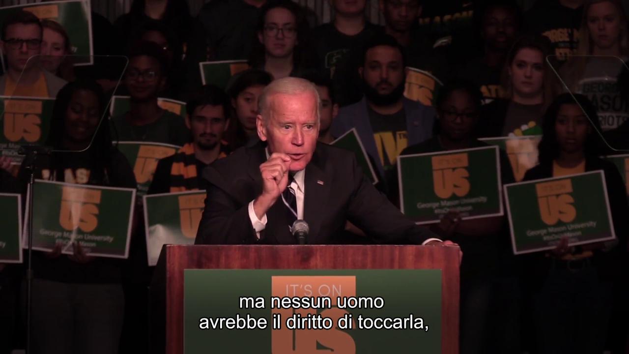 Quando Biden disse agli studenti Se non ce consenso la state stuprando