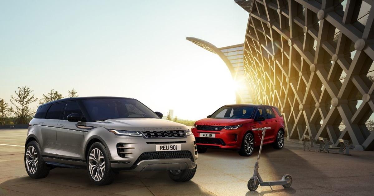 Range Rover Evoque e Discovery Sport per una mobilita urbana integrata