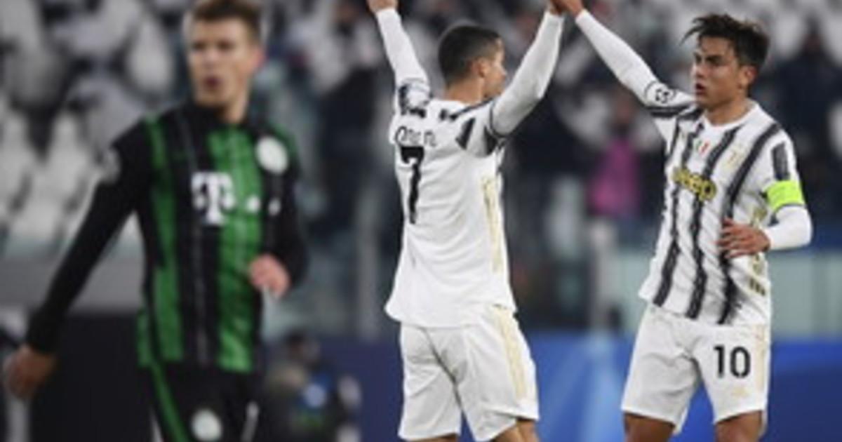 Ronaldo e Morata trascinano la Juve agli ottavi di Champions