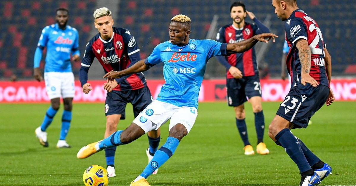 Serie A Napoli basta un gol di Osimhen Gattuso sale al terzo posto e aspetta il ricorso